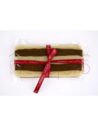 TURRON MAZAPAN-CHOCOLATE  Barra 250gr