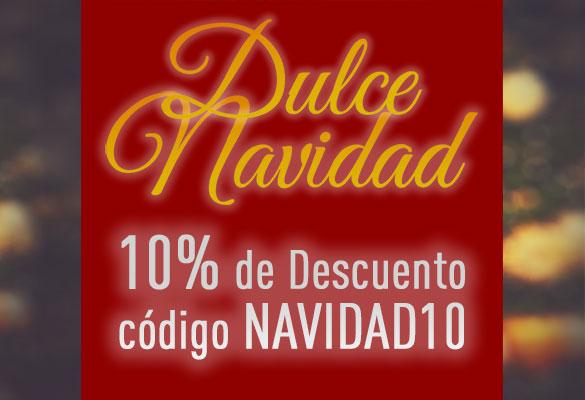 Dulce Navidad - 10% de Descuento con el código NAVIDAD10
